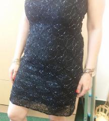 Alkalmi fekete köves ruha