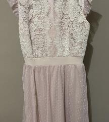 Rózsaszín alkalmi ruha Új!