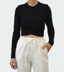 H&M fekete crop top