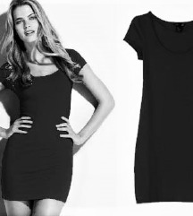 H&M kis fekete bodycon ruha