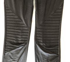 Fekete fényes vékony leggings