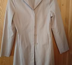 Krémszínű átmeneti kabát