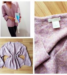 H&M oversize pulóver