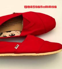 Piros TOMS cipő // ÚJ! // replika