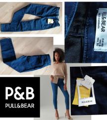 PULL&BEAR új, címkés magaderekú skinny