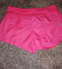Világos pink futó nadrág