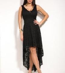 M77 fekete csipke ruha