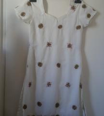 Indiai hímzett gyöngyökkel díszített ruha, XS-es