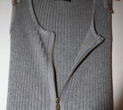 Ujjatlan kötött szexi kardigàn-ruha