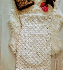 Free Style szőrmés flitteres mini ruha S
