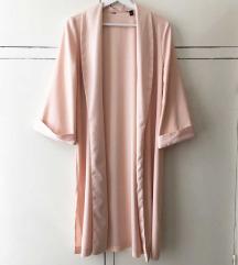 Rózsaszín hosszú blézer