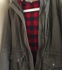Eredeti új női Hollister téli kabát M-es