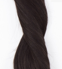Natural Black csatos póthaj igazi hajból