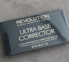 Új Makeup Revolution Ultra Base Corrector paletta