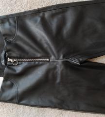 Zara bőrhatású legging S új