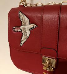 Stradivarius hímzett táska