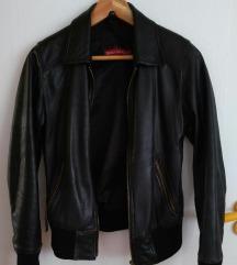 Fekete bőr dzseki