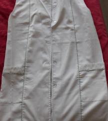 M-L -méretű fehér köpeny