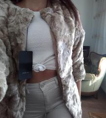 Zara műszörme kabát