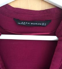 Zara S-es, ünnepi, burgundi ing