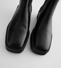 ZARA ÚJ Bőr cipő - idei kollekcio 36