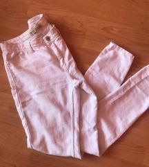 Bershka magasderekú fehér nadrág