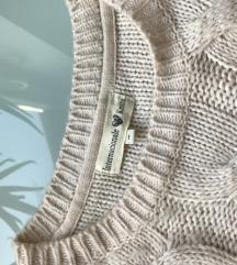 Bogyós rojtos kötött pulcsi M/L