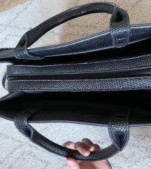 Reserved nagy méretű, bőr hatású táska