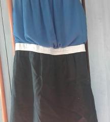 Kék-fekete ruha