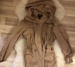 H&m-es rózsaszín átmeneti kabát