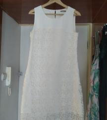 Orsay totál fehér csipke ruha