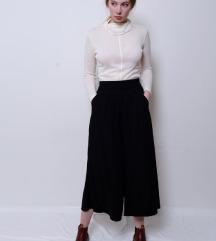 Fekete basic culotte