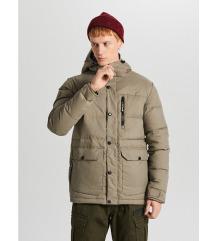 Új, címkés férfi Cropp téli kabát
