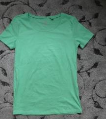 Új C&A zöld póló (XS)