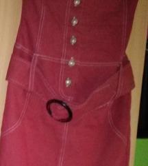 Bordó Rouge ruha Xs-es