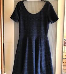 H&M kék mintás ruha