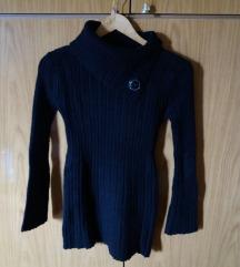 Fekete hosszított pulcsi