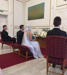 Menyasszonyi fátyol, 2méter hosszú
