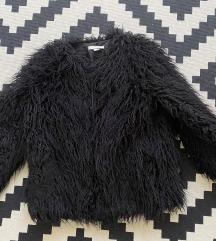 Fekete H&M szőrme