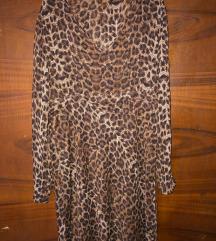leopárd mintás nyári ruha