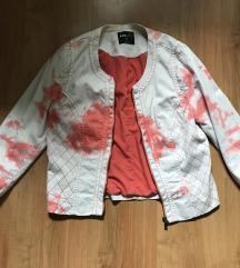 Márvány mintás kabátka
