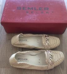 Semler Select 36 bőr mokaszin topán