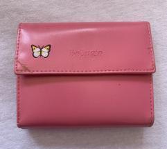 Bellugio rózsaszín pénztárca