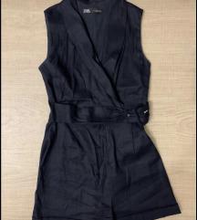 Zara sötétkék jumpsuit