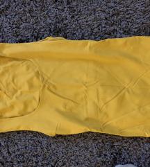 Zara sárga csinos top