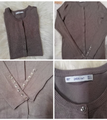 Zara knit kardigán 36
