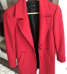 Zara piros szövetkabát