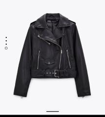 Címkés Zara műbőr kabát