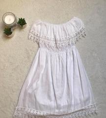 Eladó fehér csipkés ruha
