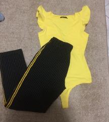 Fekete sárga csíkos nadrág